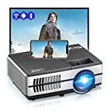 Mini Movie Projector with Bluetooth WiFi...
