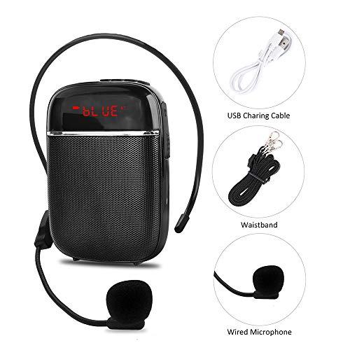 Amplificador de voz Bluetooth portátil