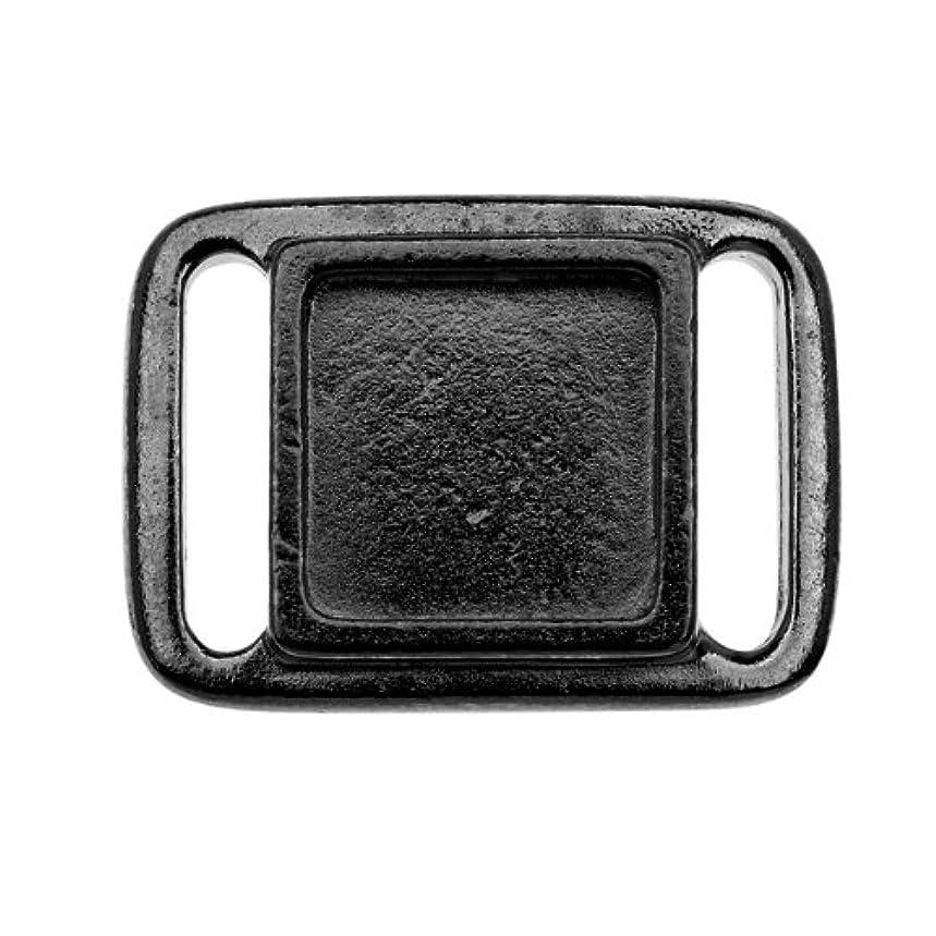 TierraCast Frame Slide Charm, 17.6 x 24.3mm, Black Finish Pewter, 2-Pack