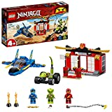 LEGO 71703 Ninjago Batalla en el Caza Supersónico Juguete de Construcción