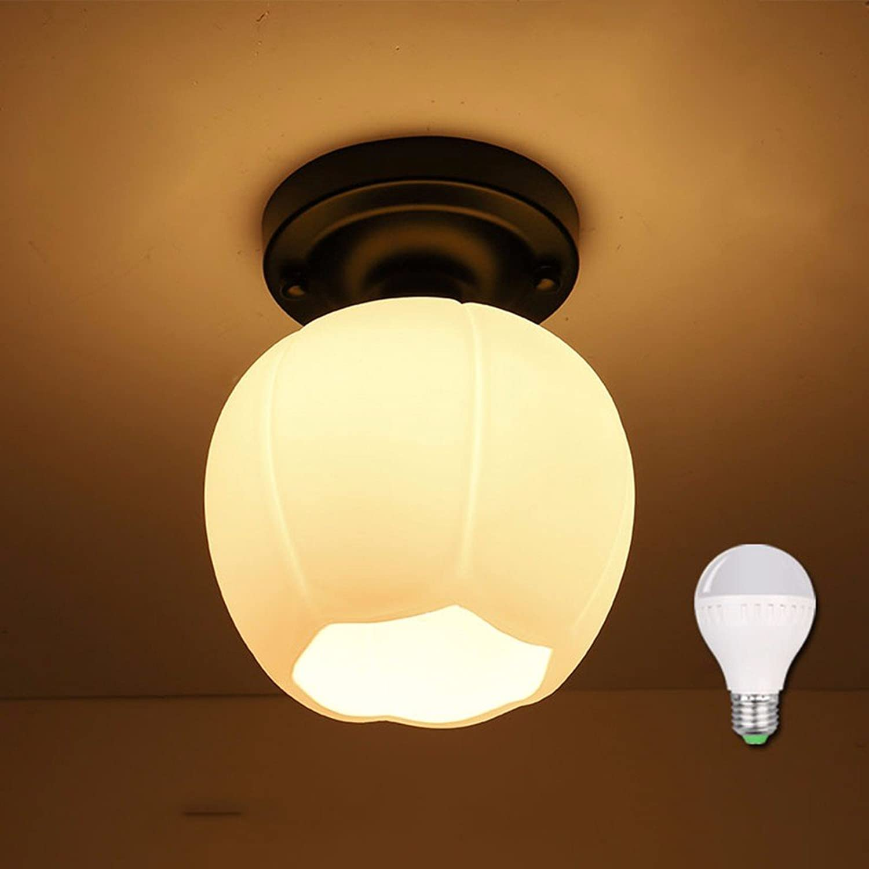 LighSCH Amerikanischer Stil Corridor Deckenleuchte Balcony Restaurant Lighting 15  19Cm