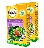 Solabiol Anticaracoles Natural Rb, Protección Contra Caracoles y Babosas, Verde Agua, 4.40 x 10.5 x 18 cm, 500 Gramos, Pack de 2