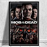 LGXINGLIyidian Carteles E Impresiones Call Duty Black Ops Zombies Game Poster Wall Art Picture Canvas Painting Modern Decoration Uo1226 50X70Cm