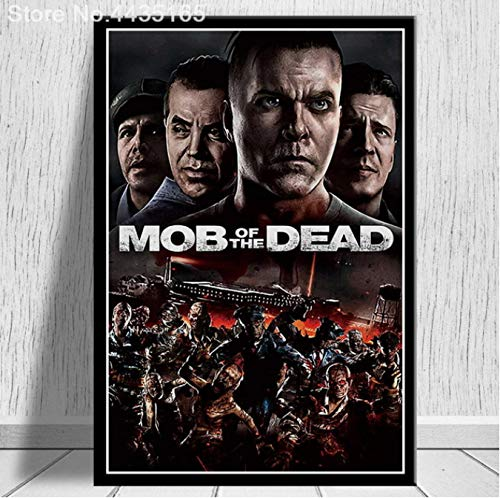 LGXINGLIyidian Poster Und Drucke Call Duty Black Ops Zombies Spiel Poster Wandkunst Bild Leinwand Gemälde Moderne Dekoration Uo1226 50X70Cm