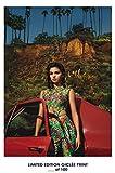 Lost Posters Rare Poster épais Selena Gomez Music Reprint # 'd/100. 12x 18