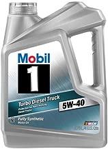 Mobil 1 98JE04 5W-40 Turbo Diesel Truck Synthetic Motor Oil - 1 Gallon