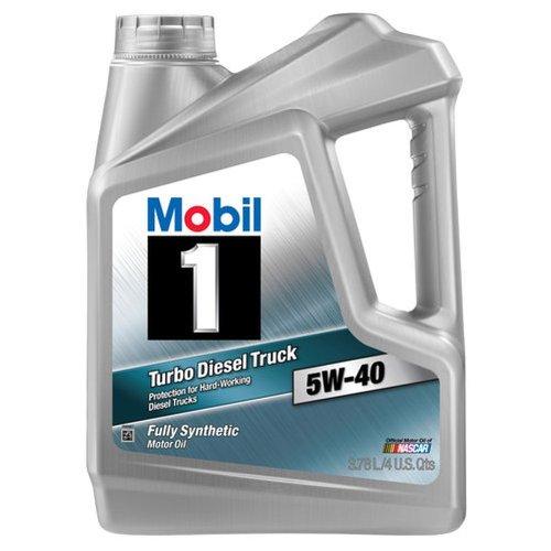 Mobil 1 98JE04 5W-40 Turbo Diesel Truck Synthetic...