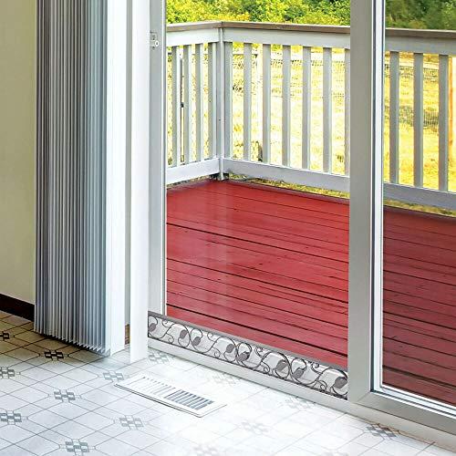 IM AMELIA Sliding Door Security Bar - Adjustable Glass Patio Door Jammer
