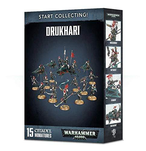 Warhammer 40k Dark Eldar Codex Start Collecting! Drukhari (70-45) Games Workshop