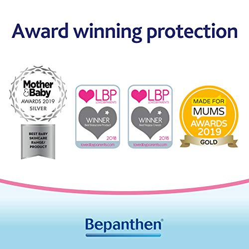Bepanthen Nappy Care Ointment, Barrier Nappy Cream that Helps to Protect from the Causes of Nappy Rash and Aids Natural Recovery of Skin with Provitamin B5, Suitable for Newborn Skin, 100 g
