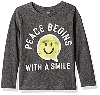 Gymboree Girls  Big Long Sleeve Casual Knit Top Cloudy Gray S