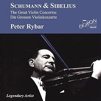 Peter Rybar: Schumann and Sibelius