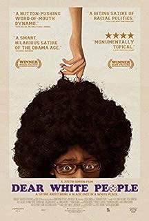 DEAR WHITE PEOPLE (2014) Original Authentic Movie Poster 27x40 - Single - Sided - Tyler James Williams - Tessa Thompson - Teyonah Parris
