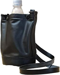 REALISE(リアライズ) 【PS-BG001】 Plastic-bottle BAG (2way×Leather) (BLACK, FREE)