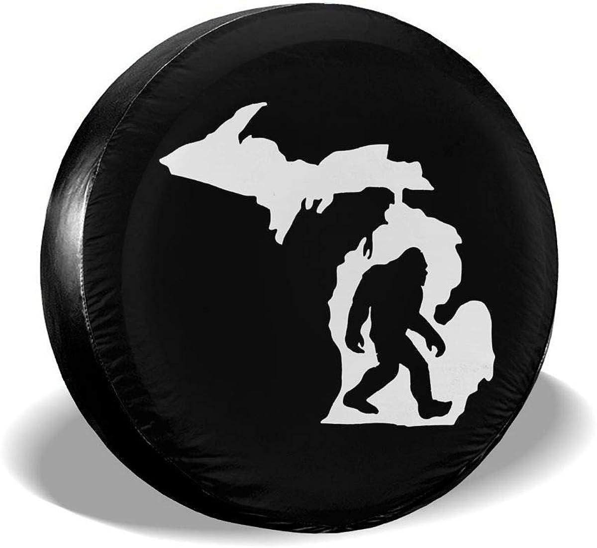 Merahans New color Michigan Map Bigfoot Spare - Tire Denver Mall Univ Cover Waterproof