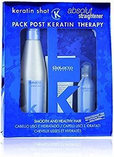 Salerm Cosmetics Kit Keratin Shot Mantenimiento Tratamiento - Paquete de 3 x 266.67 ml - Total: 4.00ml