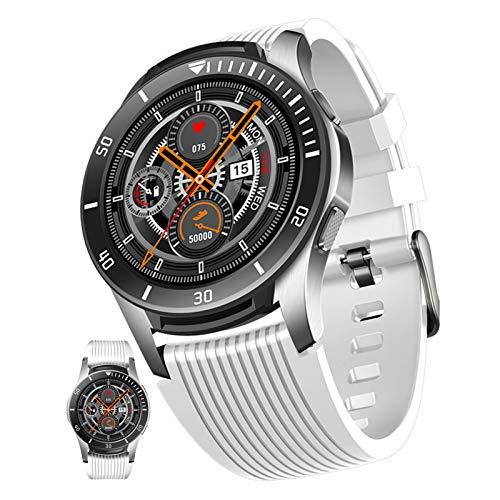 BNMY Reloj Inteligente Mujeres Hombres con Android iOS Smartwatch Reloj 1.28 Pulgadas Pantalla Completa Táctil Reloj Deportivo Presión Arterial Frecuencia Cardíaca IP67 Impermeable,B