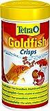 tetra goldfish crisps, mangime premium nutrizionalmente bilanciato per tutti i pesci rossi - 250 ml