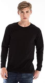 Best mens black long sleeve v neck t shirt Reviews