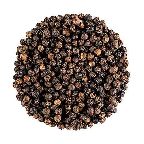 Schwarzem Pfefferkorn Ganz Bio Qualität - Gourmet Schwarze Pfefferkörner - Ganze Schwarze Pfeffer Körner Für Mühlen - Pfefferkoerner - Mühle - pfefferkorn 200g