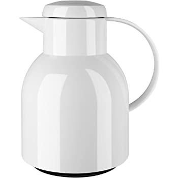 Amazon Com Emsa Flow Cooling Carafe Glass And Stainless Steel 1 L Home Kitchen
