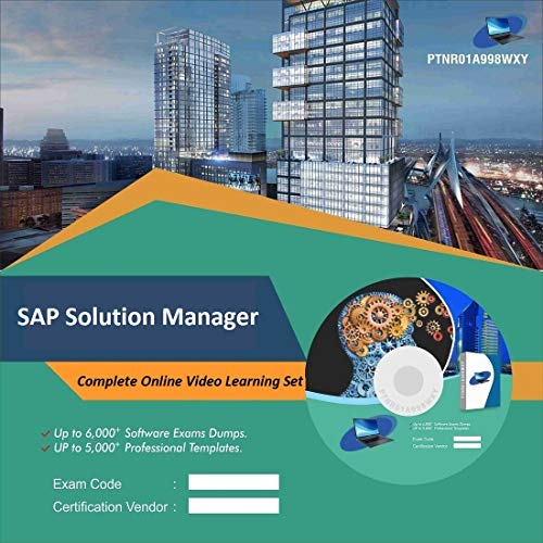 SAP Solution Manager Complete Video Learning Solution Set (DVD)