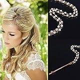 Yean accesorios para el pelo Clips Head cadena para las mujeres y las niñas