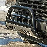 ARIES B35-4013-3 Stealth 3-Inch Black Stainless Steel Bull Bar, Select Chevrolet Silverado, GMC Sierra 2500, 3500 HD