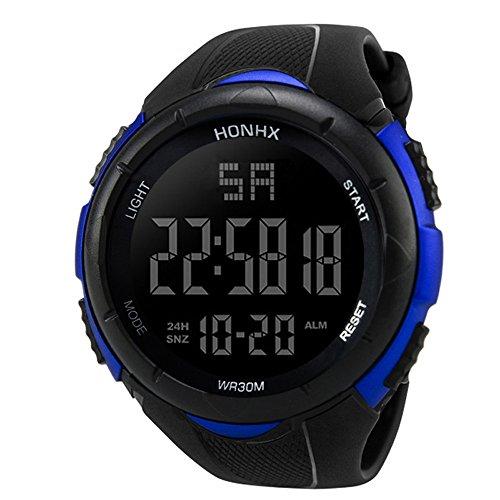VECDY 2019 Urh Herren Hohe Qualität Men's Sports Quartz Watches Luxury Men Analog Digital Military Sport LED Waterproof Wrist Watch Mode zu sehen