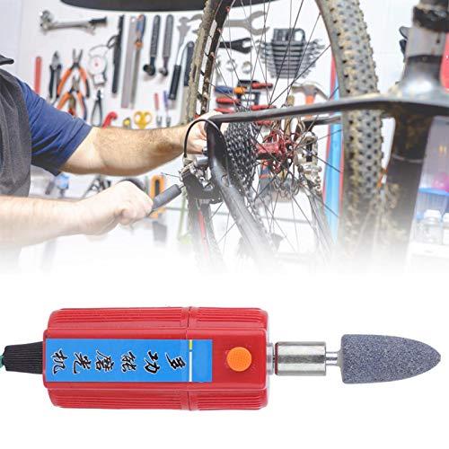 KUIDAMOS Elektrische Reifenschleifmaschine Einfach zu lagern 12V Safe Langlebig, zum Reparieren und Polieren von Reifen