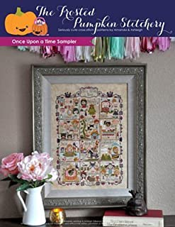 Once Upon A Time Sampler Cross Stitch Chart and Free Embellishment