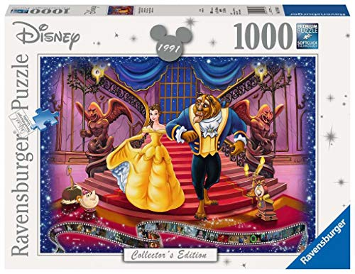 Ravensburger Italy-La Bella e la Bestia Disney Puzzle, 1000 Pezzi, Multicolore, 19746