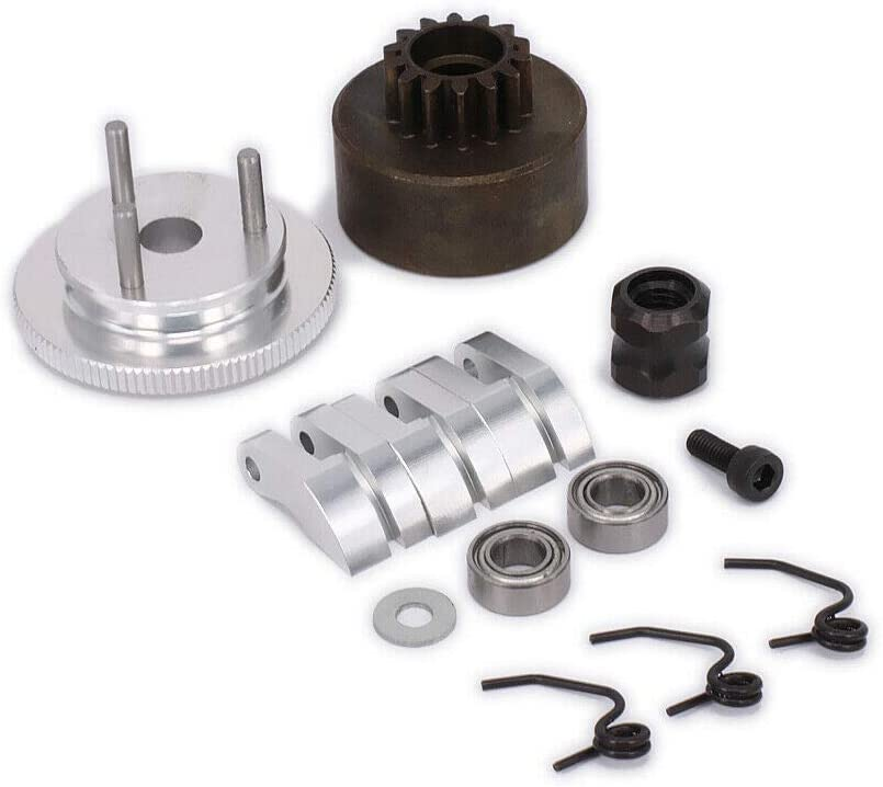 Clutch Bell Shoes Bearing 14T Gear Flywheel Set Clearance SALE! Limited time! Kit Assembly Memphis Mall Spr