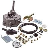 Tuningsworld Go Kart Reverse Gearbox Kit for 2HP-13HP Engine 5/8 inch 30 Series Torque Converter 10T #40/41 12T #35 Go Kart Transmission