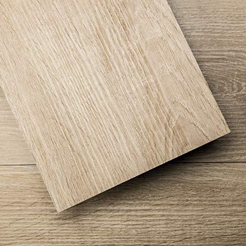 Art3d Peel and Stick Floor Tile Vinyl Wood Plank 54 Sq.Ft, Aspen Yellow, Rigid Surface Hard Core Easy DIY Self-Adhesive Flooring