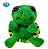 GeniusCells Big Eyes Sea Animal Turtle Stuffed Turtle Plush Hand Toy Pendant Kids Toys Gift with Original Tag
