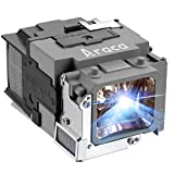 Araca ELPLP65 Projector Lamp with Housing for Epson EB-1760W 1761W 1751 1771W /PowerLite 1776W /PowerLite 1761W /PowerLite 1771W 1750 1775W Replacement Projector Lamp