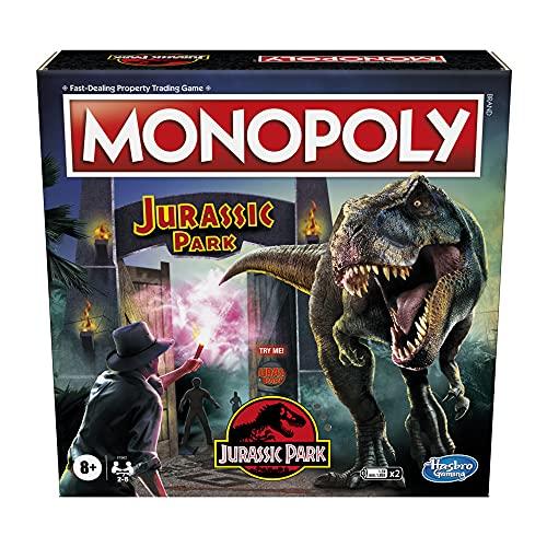 Hasbro Monopoly: Jurassic Park Edition Board Game