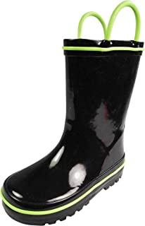 Waterproof Rubber Rain Boots for Kids – Boys and Girls Solid & Printed..