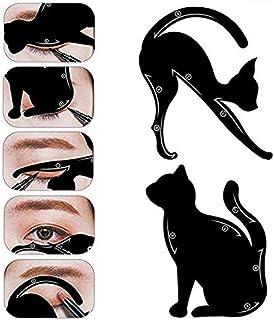 BIGBOBA.2pz Occhio di Gatto Stencil di Ombretto per Linea Eyeliner Eye Stencil Template Eye Makeup Eyeliner Stencil, Creat...