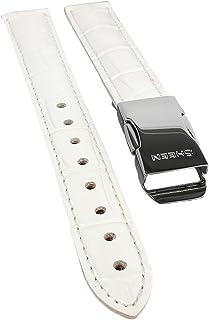 Correa de repuesto para reloj Casio Sheen Ladies Dress/Moon-Shaped SHN-3019L de piel blanca