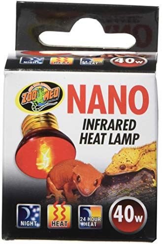 Zoo Med Nano Infrared Lampe Chauffante pour Nano-Terrarium 40 W