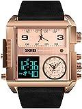 JSL Los hombres s cuadrado gran esfera reloj correa dominante cuarzo reloj de los hombres de negocios s reloj electrónico-1