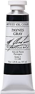 M. Graham Artist Oil Paint Paynes Gray 1.25oz/37ml Tube