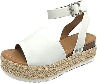 2019 New Women Comfy Platform Sandal Shoes Summer Beach Travel Shoes Fashion Sandals