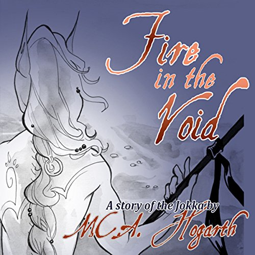 Fire in the Void audiobook cover art