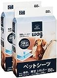 Amazonブランド Wag ペットシーツ 厚型 レギュラー 88枚x2袋(176枚)