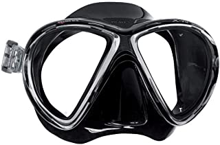Mares X-VU Scuba Diving Snorkeling Mask with Plastic Mask Box