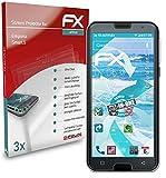 atFolix Schutzfolie kompatibel mit Emporia Smart.5 Folie, ultraklare & Flexible FX Bildschirmschutzfolie (3X)