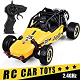 Remote Control Car INLAIER RC Cars for Kids 2.4 GHZ 1:20 Scale High Speed Racing Car with Rechargeable Battery for Racing Toy Car for All Adults and Kids Birthday Gift